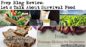 Prep Blog Review: Let's Talk About Survival Food