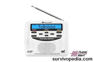Midland WR-120 Public Alert Certified Radio
