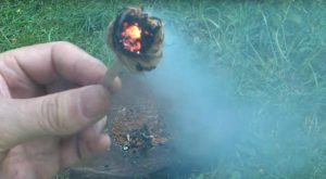 Emergency Fire-starter: Start A Fire With Bare Hands