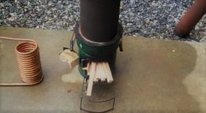 Surviving Off-grid: Hot Water From Your Wood Stove