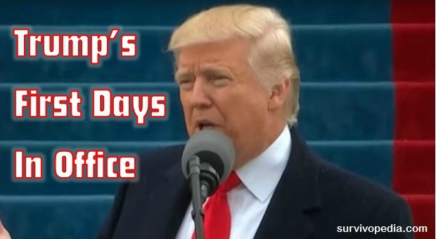 Trump's First Days In Office