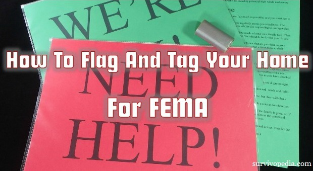 Survivopedia_How_To_Flag_And_Tag_Your_Home_For_Fema