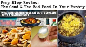 Prep Blog Review: The Good & The Bad Food In Your Pantry