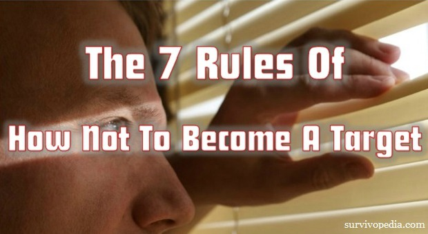The 7 Rules of How Not to Become a Target
