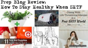 Prep Blog Review: How To Stay Healthy When SHTF