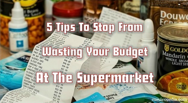 Survivopedia_5Tips_To_Stop_From_Wasting_Your_Budget_At_The_Supermarket