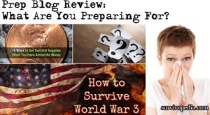 Prep Blog Review: What Are You Preparing For?