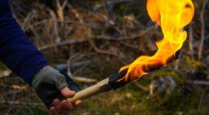 3 Ways To Make A Torch In The Wild
