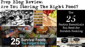 Prep Blog Review: Are You Storing The Right Food?
