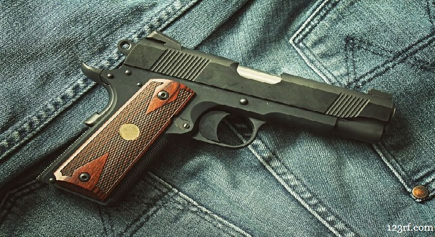Springfield Mil-Spec 1911-A1 Pistol: With and Without After Market
